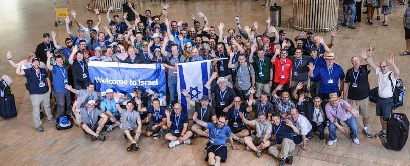 180 Jewish fathers come to Israel / Courtesy JWRP