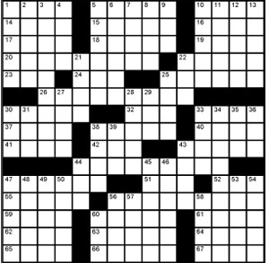 Crossword-Noach