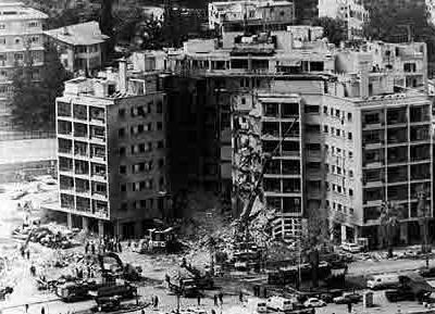 Beirut  - US Embassy Bombing 1983