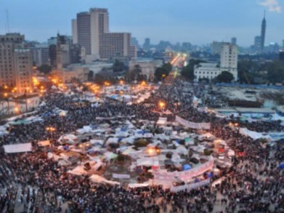 Tahrir Square, February 2011