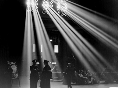 Light at Chicago Union Station 1943
