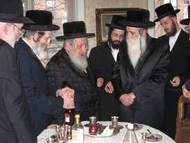 Noraler Rebbe and the Machnovka Rebbe