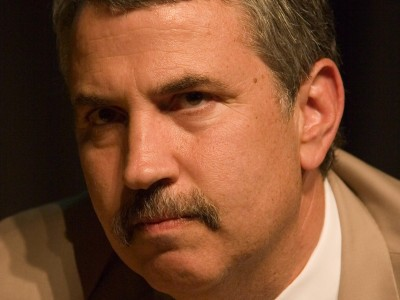 Thomas Friedman is visiting in Israel this week.