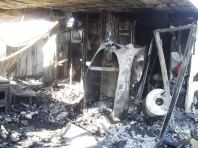Burnt Home in Shomron