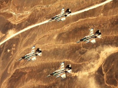 The Israeli Air probably was the source of a missile attack that destroyed a Syrian air base Thursday