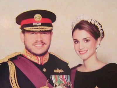 King Abdullah II and Queen Rania