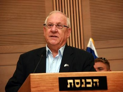 Reuven Rivlin at the Knesset