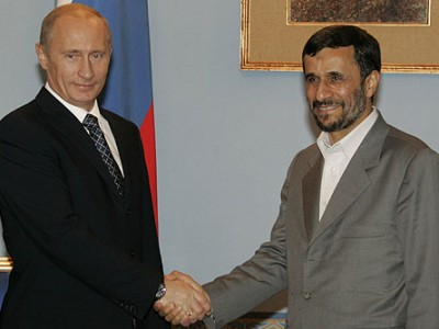 Ahmadinejad and Putin