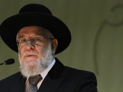 Chief Rabbi of Tel Aviv Yisrael Meir Lau