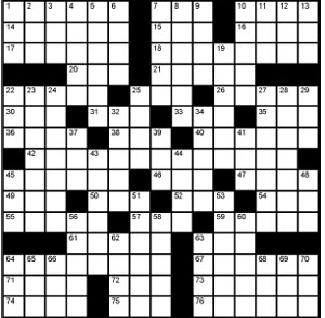 Crossword-Superbowl