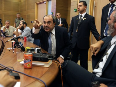 MK Ahmed Tibi shouting down another MK