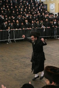 Mitzvah Dance of the Pupa Rebbe.