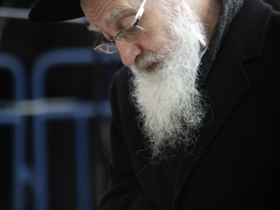 Orthodox man praying