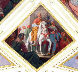 Jerónimo Cabrera, Mordecai Riding in Triumph, Queen's Room, Pardo.