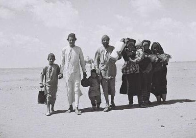 Yemenite Jews on their way to Aden