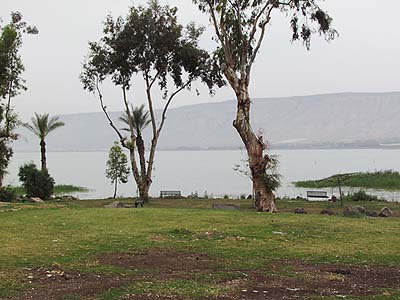 A view of the Kinneret (Sea of Galilee)