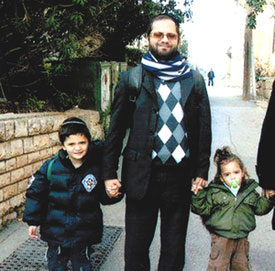 Rabbi Jonathan Sandler and his sons Gavriel and Aryeh were killed in the shooting attack in Toulouse.