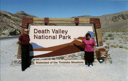 Dov and Barbara in Death Valley