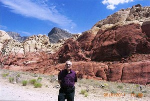 Dov in Red Rock Canyon