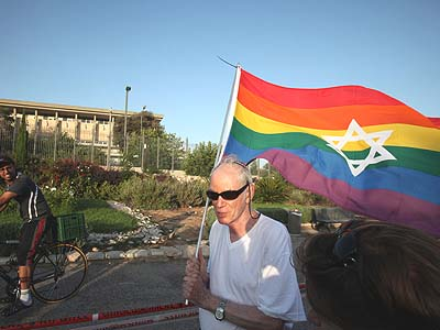 "Israel's gay pride parade passes in front of the Knesset. But Israeli gays are not ""kosher"" enough for some West Coast LGBT."
