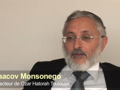 Yaacov Monsonegro, Director of Ozar HaTorah Toulouse