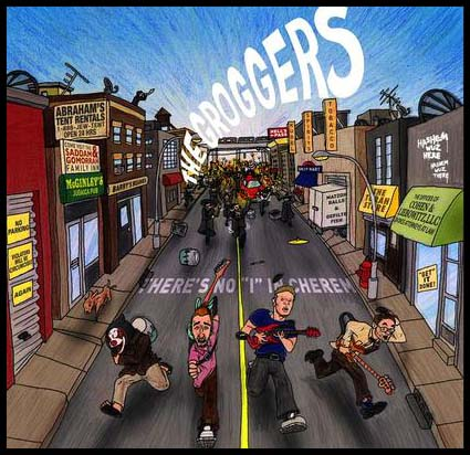 "The Groggers' debut album, ""There's No 'I' In Cherem"""