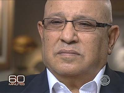 Ex Mossad chief Meir Dagan will appear on 60 Minutes Sunday
