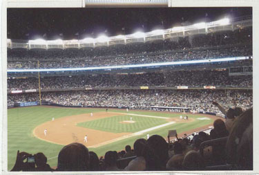 There will be exciting night baseball at Yankee Stadium in October as the Yanks will top their division.