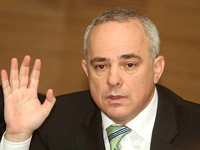 Israel's Finance Minister Yuval Steinitz objects to the demolition of Ulpana Hill.