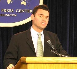 Peter Beinart speaking at the U.S. State Department
