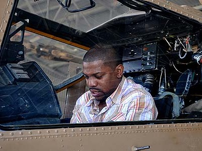 Mekhi Phifer ('ER') Checks Out the Cobra