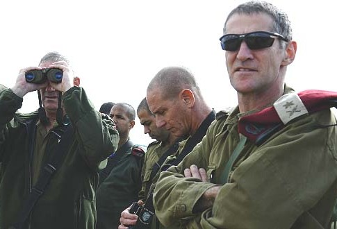 Northern Command Chief Maj. Gen. Yair Golan.