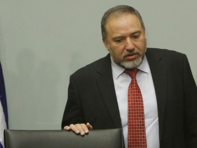 Avigdor Liberman leading a party meeting, May 09, 2012.