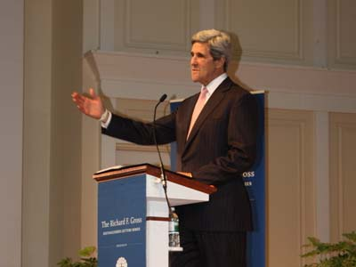 Senator John Kerry (D-Mass.)