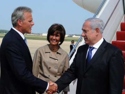 Israeli Ambassador Michael Oren meeting with PM Binyamin Netanyahu
