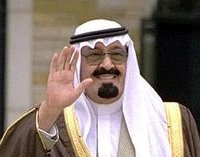 Kerry promised Saudi Arabia's King Abdullah his full support.