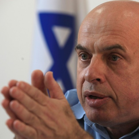Jewish Agency head Natan Sharansky.