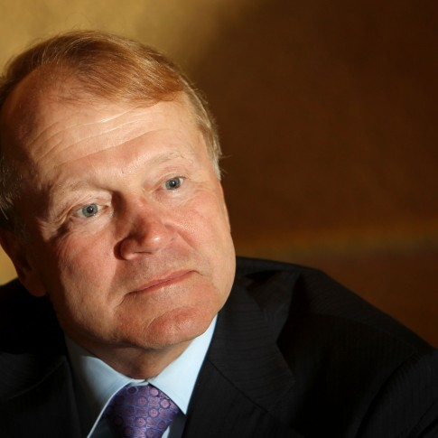 John Chambers, CEO of CISCO Systems, at the President's Conference in Jerusalem