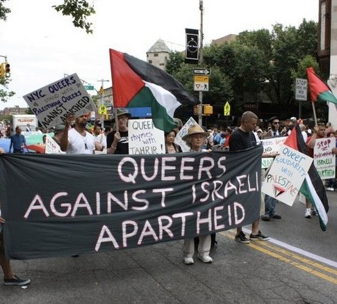 NYC Queers Against Israeli Apartheid Facebook
