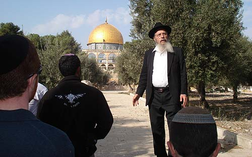 A criminal investigation has been launched against Rabbi Yisrael Ariel, founder of the Temple Institute.