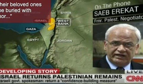 Saeb Erekat, senior Palestinian Authority negotiator, quits again.