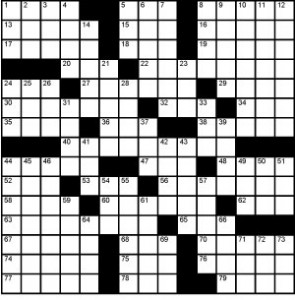 Crossword-Kevarim
