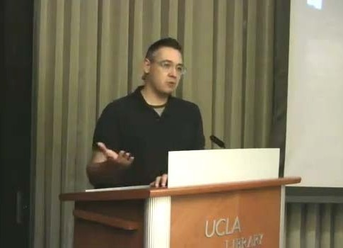 UCLA Associate Professor David Delgado Shorter