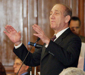 Ehud Olmert on 2005
