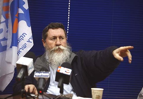 National Union chairman Yaacov Katz (Ketzaleh).