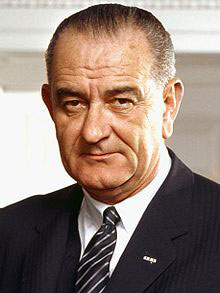 Lyndon Baines Johnson, LBJ, was the 36th President of the United States. He is one of only four people who served in all four elected federal offices of the United States: Representative, Senator, Vice President, and President.