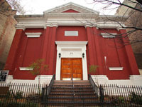 The Community Synagogue on the Lower East Side.