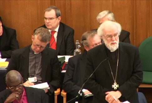 Rowan Williams, Archbishop of Canterbury and principal leader of the Church of England