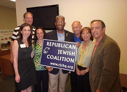 Group Picture with a Congressman