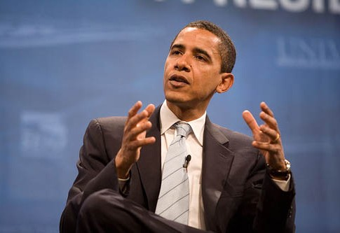 Obama at the Presidential Health Forum in Las Vegas, 2007